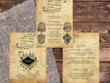61 Free Printable Harry Potter Wedding Invitation Template Layouts for Harry Potter Wedding Invitation Template