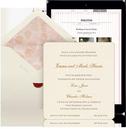 61 Free Wedding Invitation Envelope Setup Templates for Wedding Invitation Envelope Setup