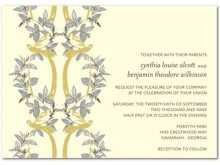 61 Online Example Of Wedding Invitation With Reception Wording Now for Example Of Wedding Invitation With Reception Wording