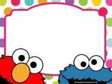 61 Report Elmo Birthday Invitation Template Photo with Elmo Birthday Invitation Template