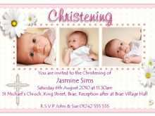 Invitation Card Layout Baptism