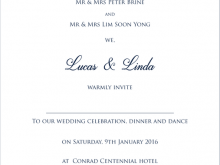 61 The Best Invitation Card Write Up Download with Invitation Card Write Up