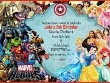 62 Creative Justice League Birthday Invitation Template Download for Justice League Birthday Invitation Template