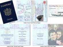 63 Adding Free Passport Wedding Invitation Template PSD File for Free Passport Wedding Invitation Template