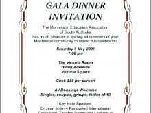 63 Create Dinner Invitation Letter Example Layouts by Dinner Invitation Letter Example