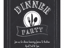 63 Create Dinner Invitation Template Free for Ms Word for Dinner Invitation Template Free