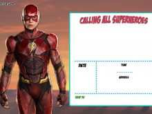 63 Create Justice League Birthday Invitation Template in Photoshop with Justice League Birthday Invitation Template
