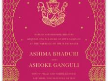 Whatsapp Indian Wedding Invitation Template