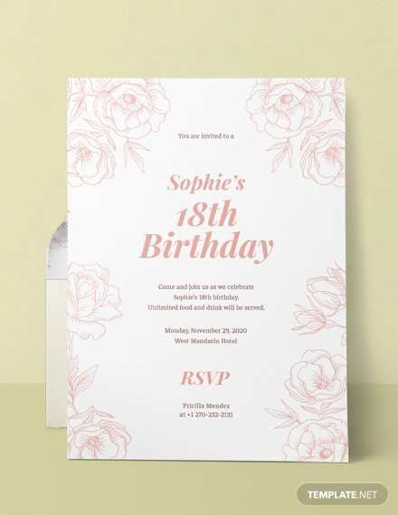 63 Customize Birthday Invitation Template Docx With Stunning Design by Birthday Invitation Template Docx
