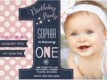 63 Format 1St Birthday Invitation Video Template Now for 1St Birthday Invitation Video Template