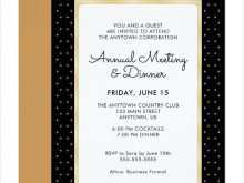 63 Free Printable Example Of Invitation Card For Dinner Download with Example Of Invitation Card For Dinner