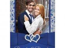 63 Printable Royal Blue Wedding Invitation Template Maker with Royal Blue Wedding Invitation Template