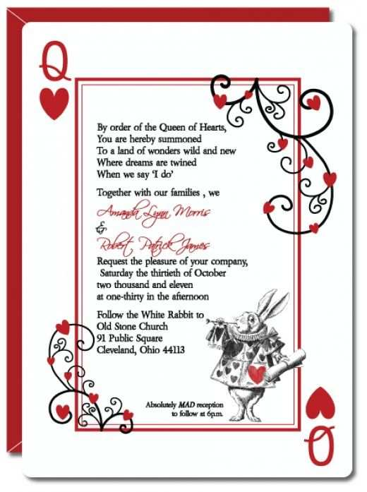 63 Report Alice In Wonderland Wedding Invitation Template in Photoshop by Alice In Wonderland Wedding Invitation Template