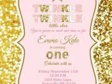 63 Report Twinkle Twinkle Little Star Birthday Invitation Template Free Templates by Twinkle Twinkle Little Star Birthday Invitation Template Free