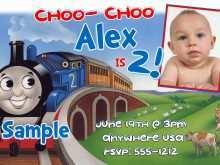 63 The Best Birthday Invitation Template Train Free Photo for Birthday Invitation Template Train Free