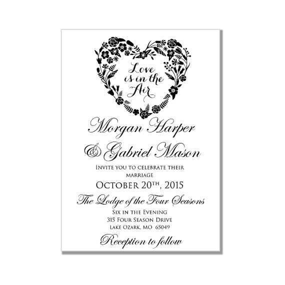 63 The Best Wedding Invitation Template For Microsoft Word for Ms Word with Wedding Invitation Template For Microsoft Word