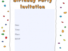63 Visiting Rsvp Birthday Invitation Template in Photoshop with Rsvp Birthday Invitation Template