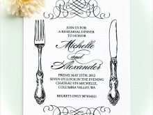 64 Creating Dinner Invitation Examples in Photoshop by Dinner Invitation Examples