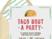 64 Creating Taco Party Invitation Template Templates for Taco Party Invitation Template