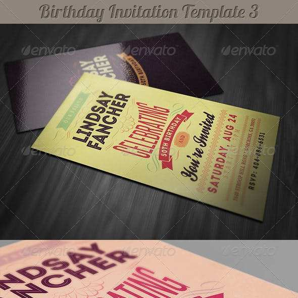 64 Customize Our Free Birthday Invitation Template Adobe Illustrator in Word by Birthday Invitation Template Adobe Illustrator