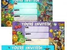 64 Free Zombie Birthday Invitation Template in Word with Zombie Birthday Invitation Template