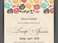 64 Online Stock Vector Wedding Invitation Template 14 in Photoshop by Stock Vector Wedding Invitation Template 14