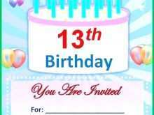 64 Printable Birthday Invitation Template After Effects Formating with Birthday Invitation Template After Effects