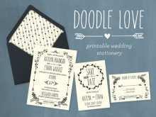 64 Printable Doodle Wedding Invitation Template Photo with Doodle Wedding Invitation Template
