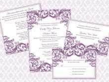 64 Report Wedding Invitation Template Victorian PSD File for Wedding Invitation Template Victorian