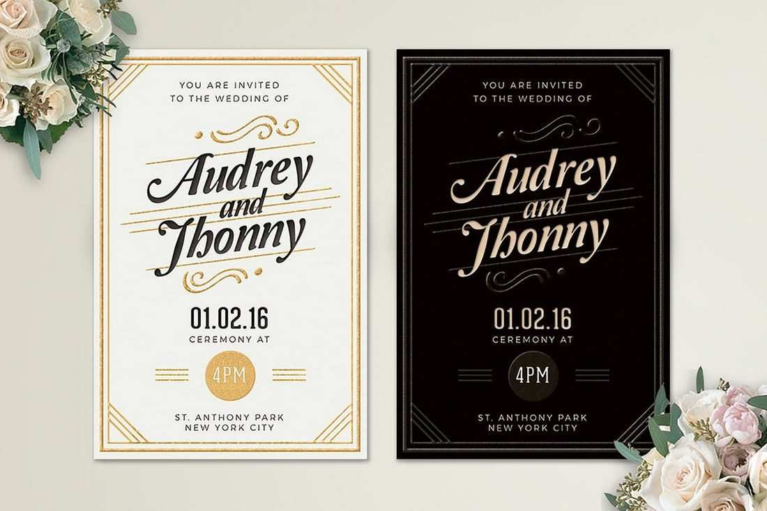 5 The Best Wedding Invitation Template Coreldraw in Word with