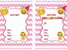 65 Best Emoji Birthday Party Invitation Template Free Formating for Emoji Birthday Party Invitation Template Free