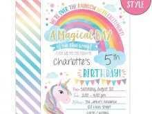 65 Free Printable Elegant Invitation Template Unicorn Now for Elegant Invitation Template Unicorn