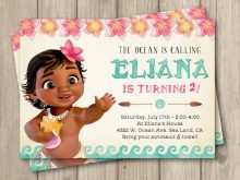 65 How To Create Baby Moana Birthday Invitation Template for Ms Word for Baby Moana Birthday Invitation Template