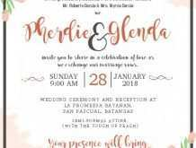 65 Visiting A5 Wedding Invitation Template for Ms Word with A5 Wedding Invitation Template
