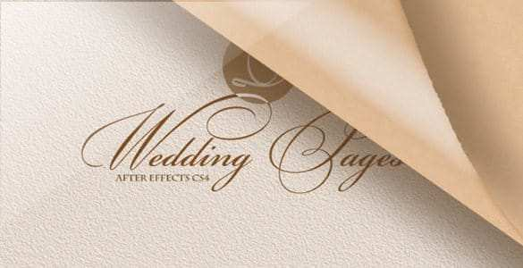 66 Adding After Effect Wedding Invitation Template for Ms Word for After Effect Wedding Invitation Template