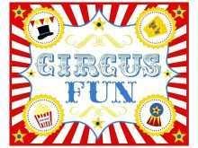 66 Best Circus Birthday Invitation Template Free Maker for Circus Birthday Invitation Template Free