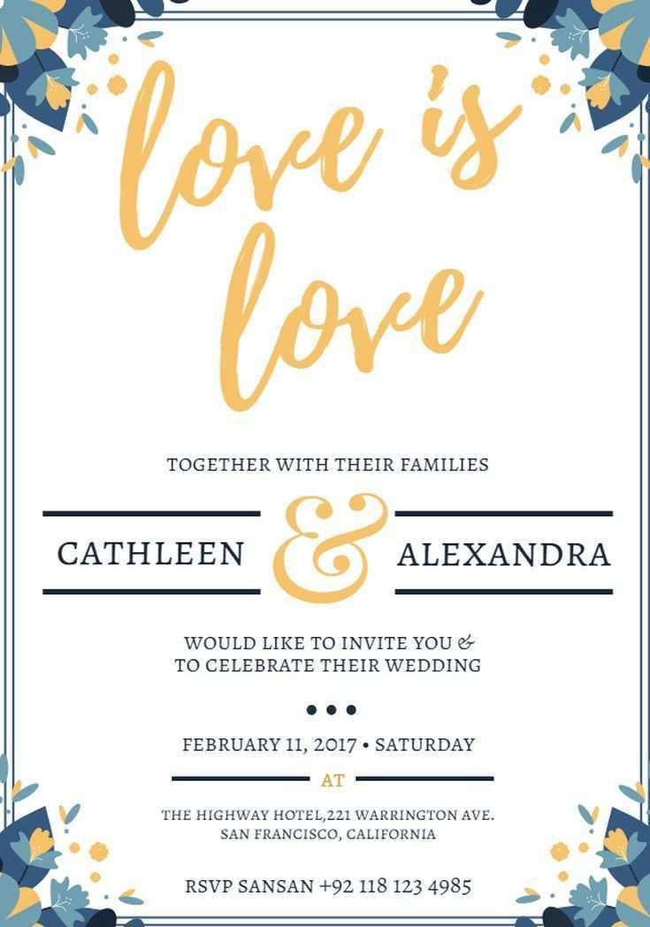 66 Best Design Your Own Wedding Invitation Template Layouts for Design Your Own Wedding Invitation Template