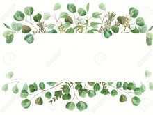66 Blank Wedding Invitation Template Green in Word by Wedding Invitation Template Green