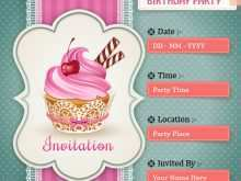 66 Creating Birthday Invitation Templates Electronic Now with Birthday Invitation Templates Electronic