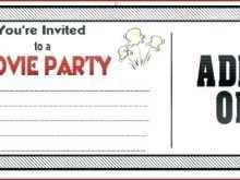 66 Creating Birthday Invitation Ticket Template Free Maker for Birthday Invitation Ticket Template Free