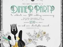 66 Creating Example Of Invitation Card For Dinner PSD File for Example Of Invitation Card For Dinner