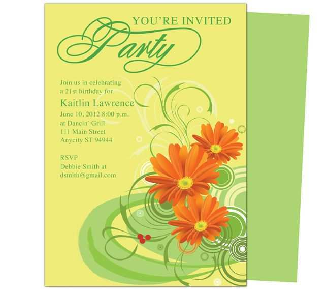 66 Customize Apple Pages Birthday Invitation Template With Stunning Design by Apple Pages Birthday Invitation Template