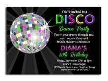 66 Customize Dance Party Invitation Template Download with Dance Party Invitation Template