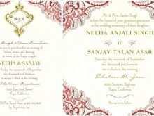66 Customize Indian Wedding Invitation Template in Word for Indian Wedding Invitation Template