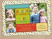 66 Customize Our Free Joint Birthday Party Invitation Template Templates with Joint Birthday Party Invitation Template