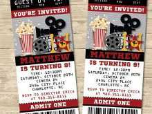 66 Customize Our Free Party Invitation Movie Template For Free with Party Invitation Movie Template