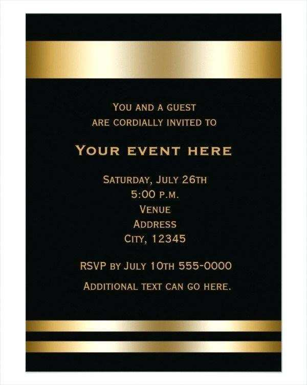 66 Free Formal Event Invitation Template Download for Formal Event Invitation Template