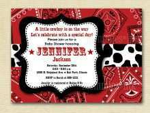 66 Free Western Theme Party Invitation Template in Photoshop for Western Theme Party Invitation Template