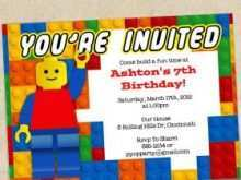 66 How To Create Lego Party Invitation Template Free in Photoshop for Lego Party Invitation Template Free