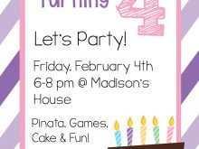 66 Printable Birthday Invitation Template Free in Word with Birthday Invitation Template Free